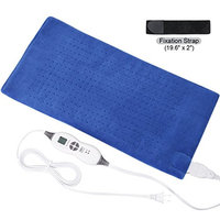TechLove Electric Heating Pad with Auto Shut Off Electric Moist Heated Therapy for Neck Shoulder and Back Pain Relief Extra Large 12