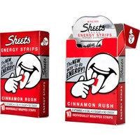 Sheets Energy Strips, Cinnamon, 10ct