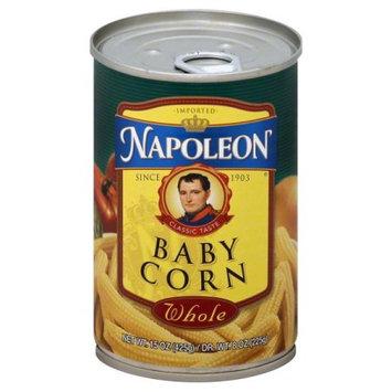 Napoleon Co. Napoleon B13315 Napoleon Whole Baby Corn -12x15oz