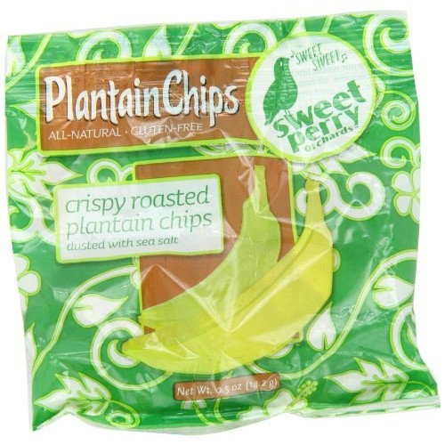GoPicnic Sweet Perry Orchards Roasted Plantain Chips, Snack Packs, 10 Count [Plantain Chips]