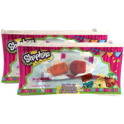 Brush Buddies Shopkins Travel Kit - 2 Pack