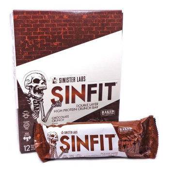 Sinfit Protein Bar Chocolate Crunch - 2.93 Ounces by Sinister Labs