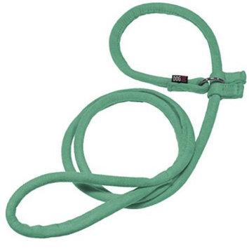 Dogline M8051-23 60 L x 0.33 W in. Comfort Microfiber Round Slip Lead Teal