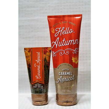 Bath & Body Works - One for home & One for Travel – Body Cream - Set - Salted Caramel Apricot
