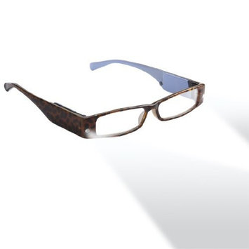 LIGHTSPECS LP Ultra Bright LED Lighted Lightweight Rectangular Reading Glasses