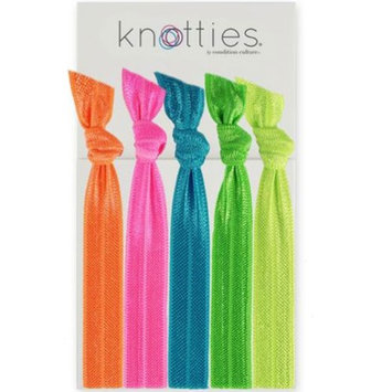 Condition Culture Girls Neon Multi Neon Solid Color Knotties Hair Ties