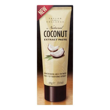 Taylor & Colledge 266815 1.4 oz. Extract Paste Coconut