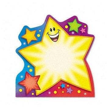 TREND Note Pad w/Super Star Design, 5 x 5, 50 Sheets/Pad