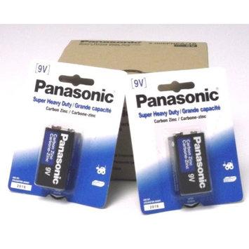 12 Pack Panasonic Super Heavy Duty 9V Batteries Retail Packaging