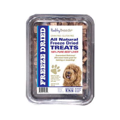 Healthy Breeds 840235148371 10 oz Labradoodle All Natural Freeze Dried Treats Beef Liver
