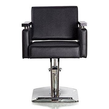 Funnylife Black PU Hydraulic Styling Salon Barber Chair