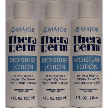 Thera Derm Lotion Generic for Keri Original Body & Face Moisturizing Lotion for Dry Skin 8 oz per Bottle Pack of 3 Total 24 oz [3 Bottles 24 oz]