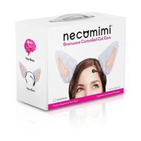 Neurowear Necomimi Brainwave Cat Ears Novelty, One Color (Discontinued by manufacturer)