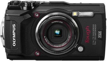 Olympus TG-5 12MP 4x Optical Zoom F2.0 Hi-Speed Lens Wi-Fi Digital Camera Body Black