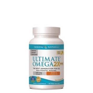 Ultimate Omega 2X Mini with Vitamin D3 - Lemon, 60 Softgels, Nordic Naturals