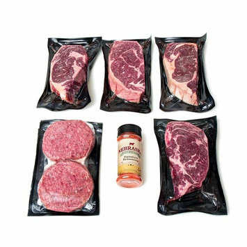 Nebraska Star Beef Angus Beef Gift Package, Hearty Tradition [Hearty Tradition]