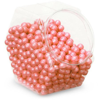 Shimmer Coral Sixlets Candy Orange