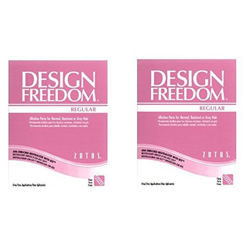 [ VALUE PACK OF 2] ZOTOS ACCLAIM DESIGN FREEDOM (REGULAR) ALKALINE PERM (FIRM): Beauty