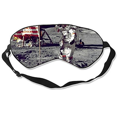 Into The Moon Sleeping Mask Silk Eye Mask for Sleeping Blinders With Adjustable Straps Out for Sleep Travel Nap