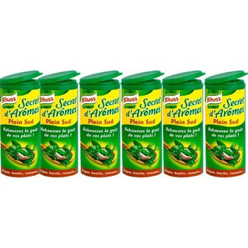 French Secret South Aromat Knorr-Secret D Aromes Plein Sud-6 Can Pack