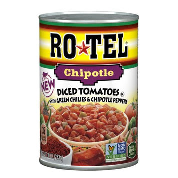 Conagra Foods Rotel Chipotle Diced Tomatoes, 10 oz
