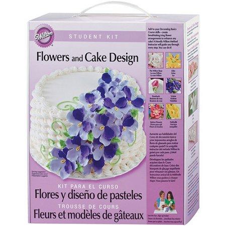 Wilton W2116113 Wilton Student Kit-Flowers & Cake Design