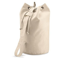 Quadra Unisex Adults Canvas Cotton Shoulder Strap Duffle Bag One Size