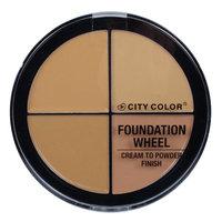 City Color Foundation Wheel - Medium Skin Tones