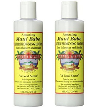 Maui Babe 8oz After Browning Lotion Set of 2