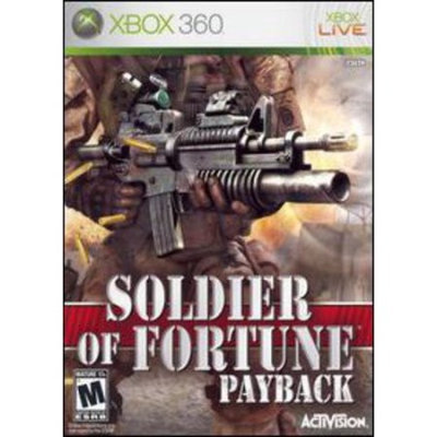Xbox Soldier of Fortune: Payback (used)