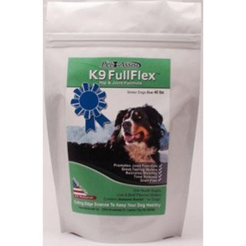 All Natural Hip and Joint Formula for Dogs - K9 Fullflex With Hydrolyzed Shell Membrane Proteins, Collagen, and K9 Immunity - Liver & Beef Flavored Wafers - 60 Wafers