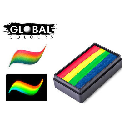 Global Body Art Fun Stroke Rainbow Split Cake - Amsterdam (30 gm)