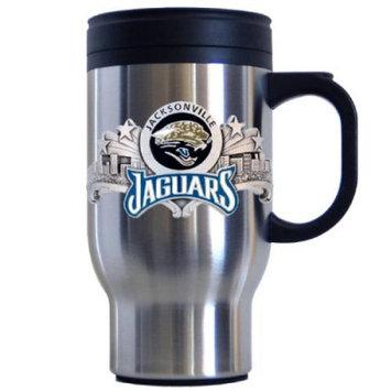 Siskiyou Jacksonville Jaguars NFL Stainless Steel Travel Mug