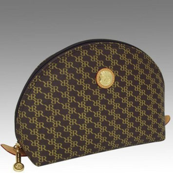 RIONI Aristo AD-20047 Brown Large Cosmetic Pouch