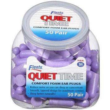 Flents Quiet Time Soft Comfort Foam Ear Plugs - 50 Pair