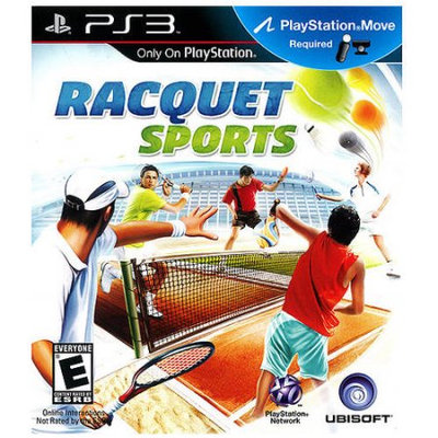 Ubisoft Racquet Sports PRE-OWNED (PlayStation 3)