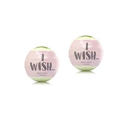 Bath & Body Works - 2 Pack - I WISH - Bath Fizzy 4.6 Oz.
