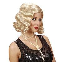 Roaring 20s Blonde Wig for Hair Accessory Fancy Dress