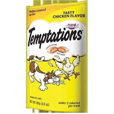 Whiskas Temptations Cat Treats Tasty Chicken Flavor 1 Bag Tartar Control Treats