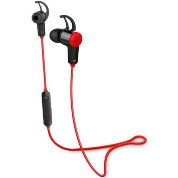 iLuv FitActive Jet Inner Ear Bluetooth Stereo Sport Headphones (Red) with Mic and Multimedia Function