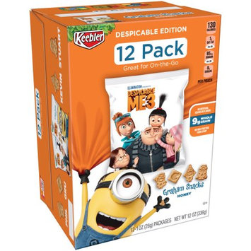 Kellogg Sale Company Keebler Despicable Me Edition Honey Graham Snacks 12 ct Caddies (Pack Of 4)