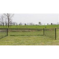 Easy Garden Barnwood Brown Easy Garden Fence EF2001 Rabbit Fence 50 ft Kit - 32 in. H