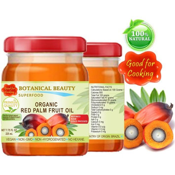 ORGANIC RED PALM FRUIT OIL Brazilian. 100% Pure / Refined / Undiluted Cold Pressed. SUPER FOOD. GOOD FOR COOKING. 7.75 Fl.oz – 225 ml.
