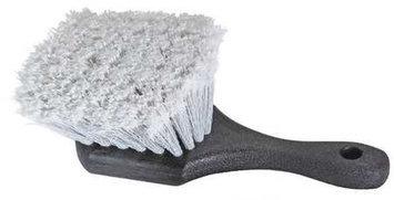 LAITNER 8472 Detail Brush,8in L,Gray, Polypropylene