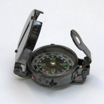 Benzara Russian Military Compass, Edifying And Endearing Navigational Replica