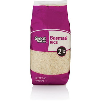 Great Value Gv Basmati Rice 2lb