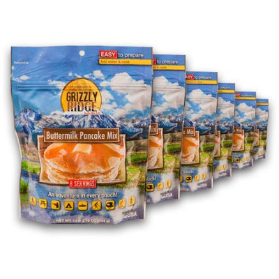 Grizzly Ridge Buttermilk Pancake Mix (Pack of 6)