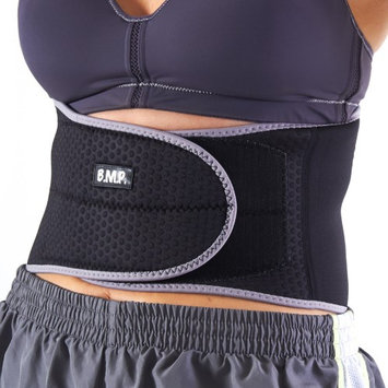 Black Mountain Products Inc Black Mountain Stabilizing Lumbar Back Brace. Fits All Waists with Adjustable Elastic Compression Straps.