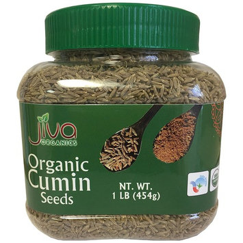 Jiva Organic Cumin Seeds Whole 1 Pound Jar
