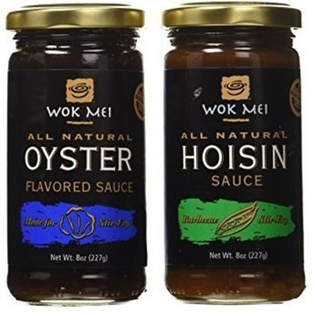 Hoisin and Oyster Sauce for Asian Chinese Dishes, Natural Gluten Free